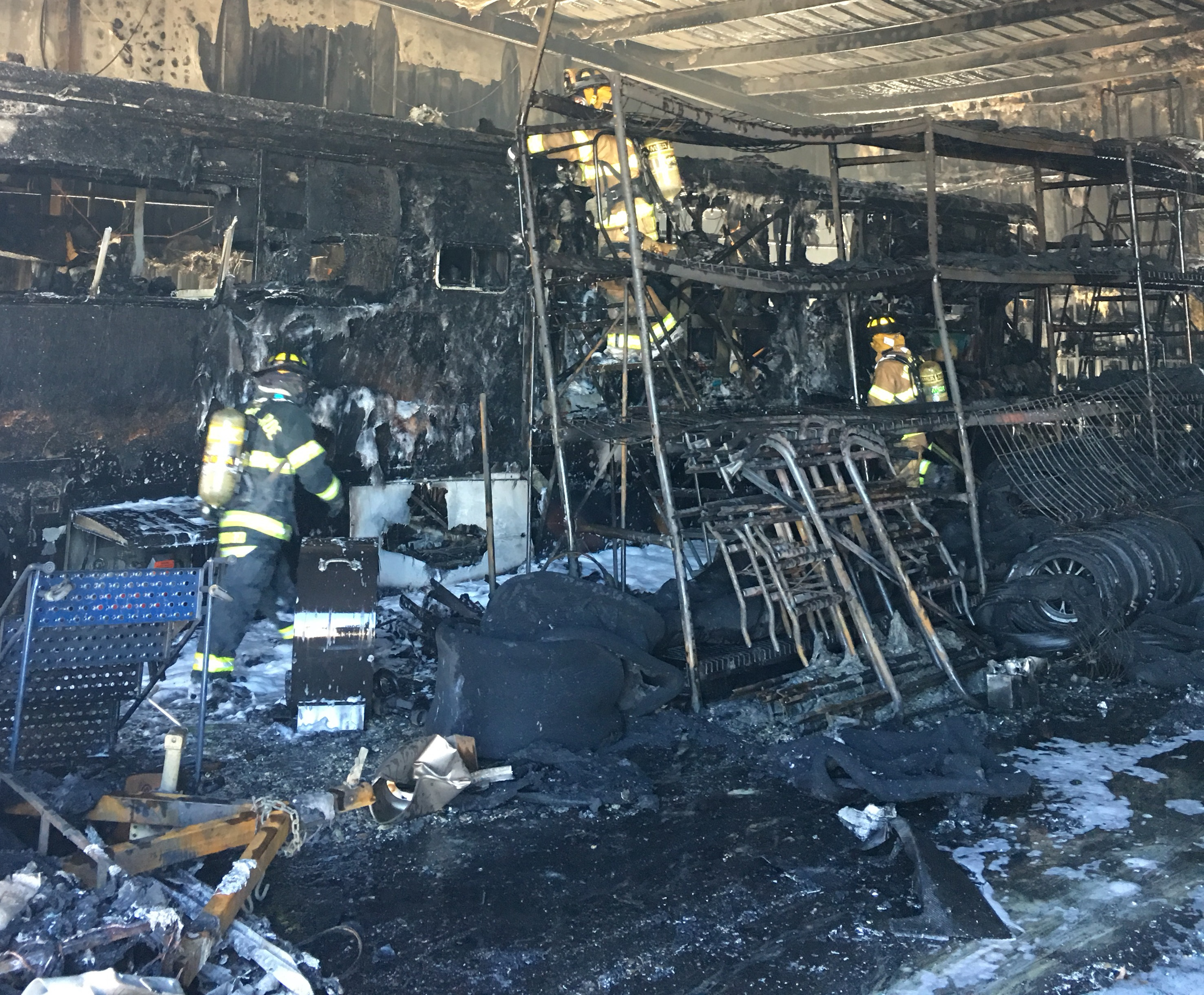 Millions Of Dollars Lost In Alarm Fire At Jerry Bickel Racing